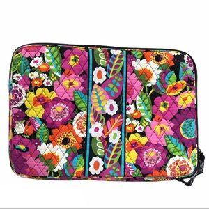 """Vera Bradley quilted soft laptop case, 16""""x 11"""""""